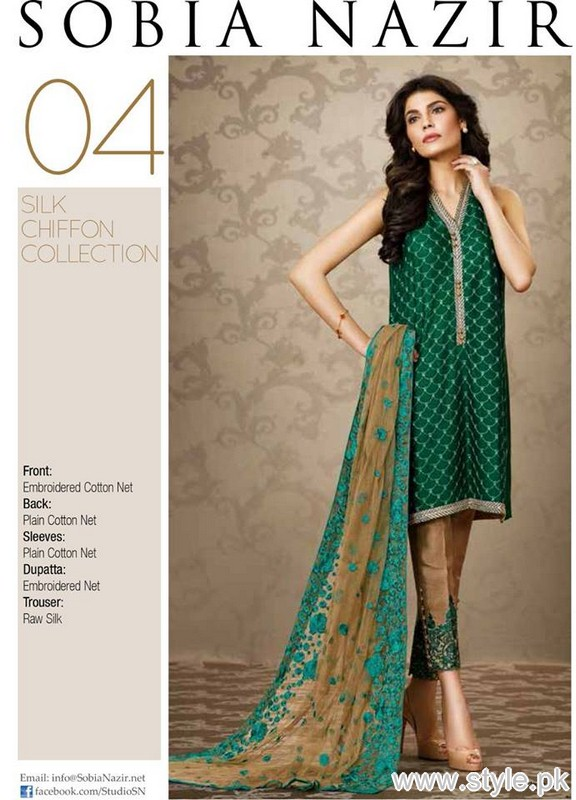 Sobia Nazir Eid-Ul-Azha Collection 2015 For Women 3