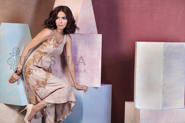 Umsha By Uzma Babar Pret Wear Collection 2015 For Women001