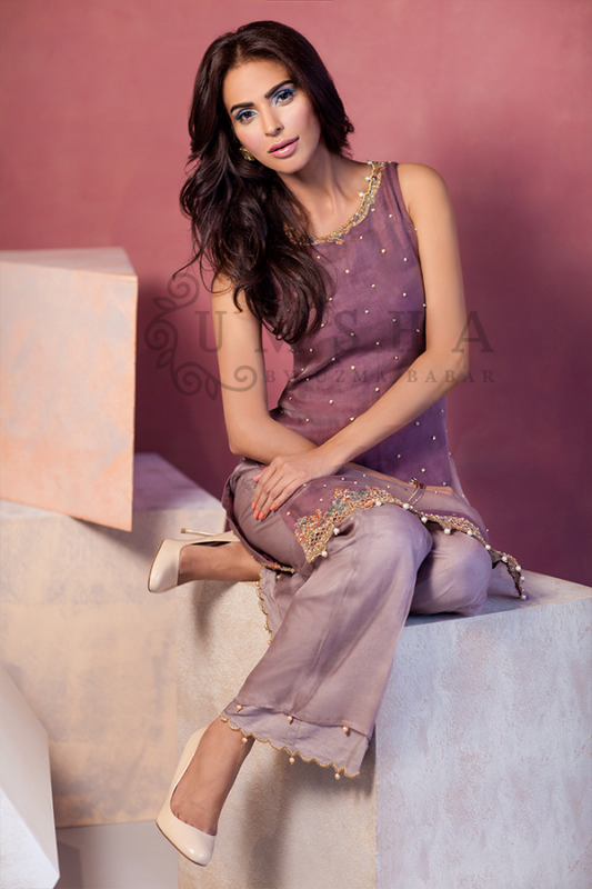 Umsha By Uzma Babar Pret Wear Collection 2015 For Women009