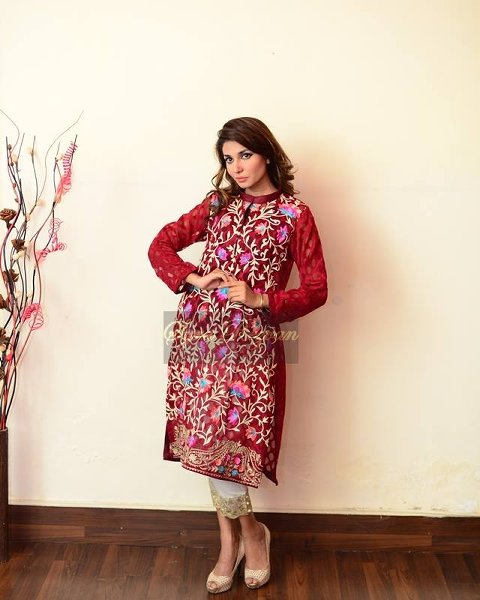 Vibgyor By Syra Rezvan Eid ul Azha Collection 2015 For Women0011
