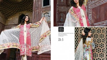 Zahra Ahmad Heritage Lawn Collection 2015 For Eid-ul-Azha 9