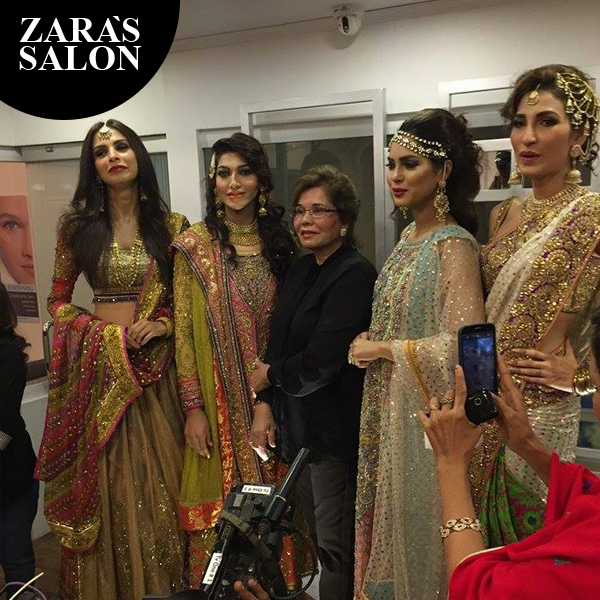 Zara's Salon's first Anniversary