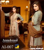 Amna Ismail Winter Dresses 2015 For Women 1
