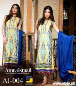 Amna Ismail Winter Dresses 2015 For Women 10