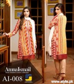 Amna Ismail Winter Dresses 2015 For Women 2