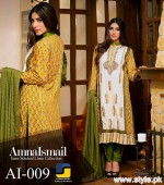 Amna Ismail Winter Dresses 2015 For Women 4