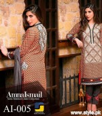 Amna Ismail Winter Dresses 2015 For Women 6