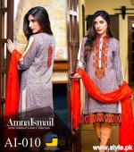 Amna Ismail Winter Dresses 2015 For Women 7