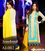 Amna Ismail Winter Dresses 2015 For Women 8