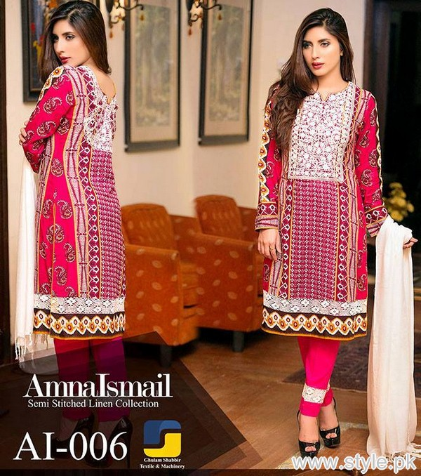 Amna Ismail Winter Dresses 2015 For Women 9