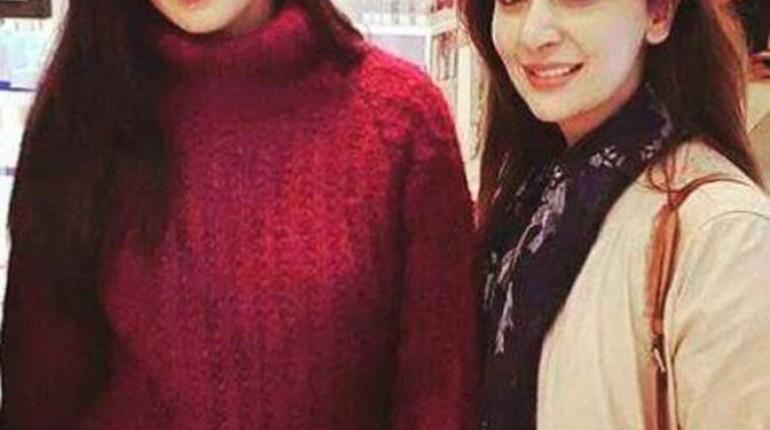 See Ayesha Khan met Ranbir Kappor and katrina Kaif