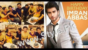 See Birthday Celebrations of Imran Abbas