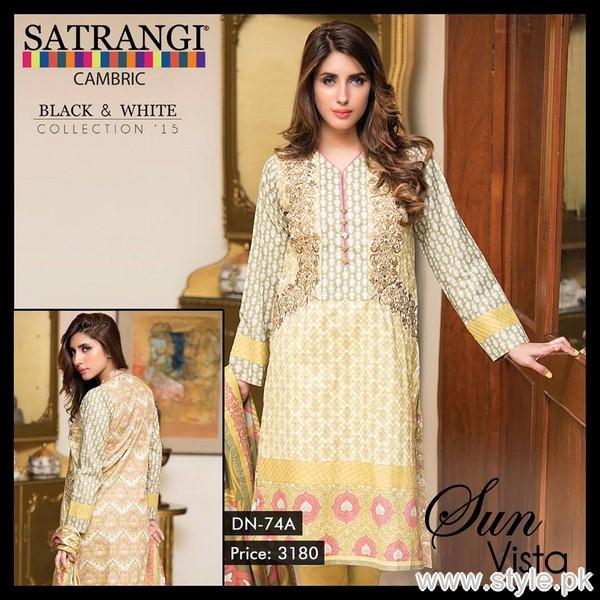 Bonanza Cambric Dresses 2015 For Winter 6