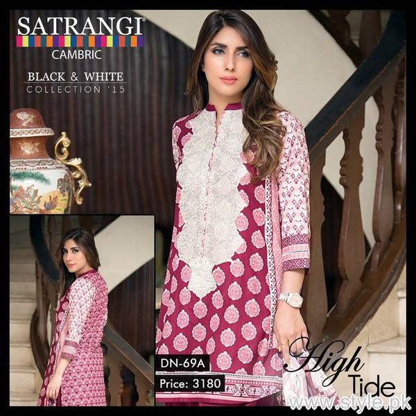 Bonanza Cambric Dresses 2015 For Winter 9