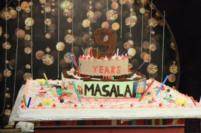 See Celebrities on 9th Anniversary of Masala TV