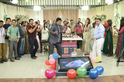 Celebrities on 9th Anniversary of Masala TV (2)