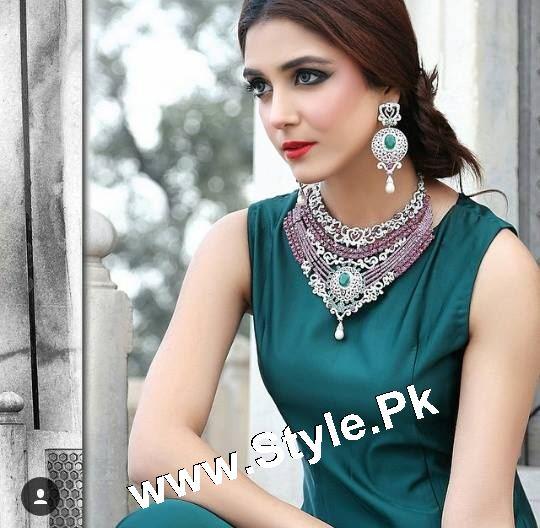 Elegant Photoshoot of Maya Ali for Samreen Vance House of Jewels (7)