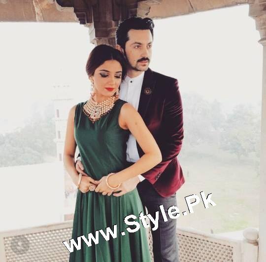 Elegant Photoshoot of Maya Ali for Samreen Vance House of Jewels (8)