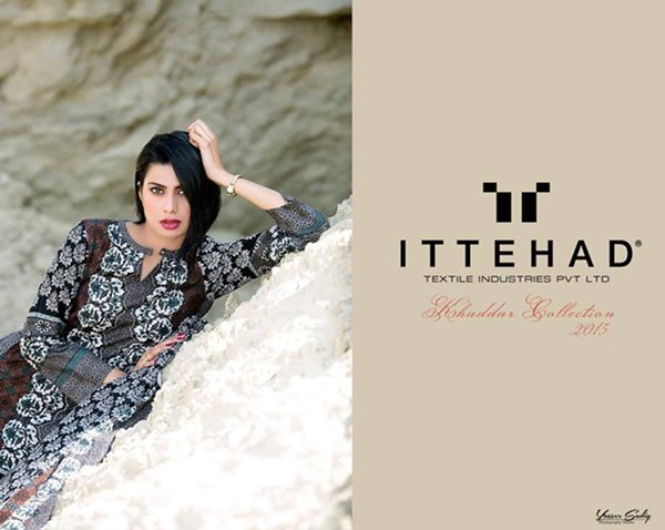 Ittehad Textiles Khaddar Collection 2015 For Women0011