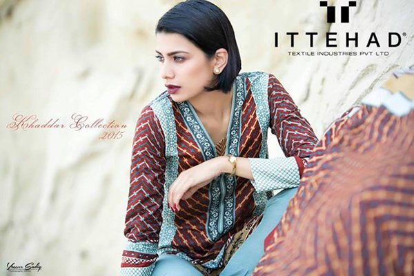 Ittehad Textiles Khaddar Collection 2015 For Women003