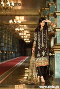 Lala Brocade Winter Collection 2015 For Women 2