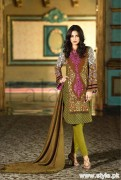 Lala Brocade Winter Collection 2015 For Women 4