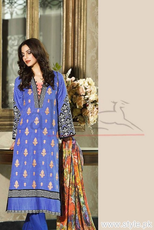 Lala Brocade Winter Collection 2015 For Women 6