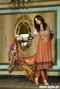 Lala Brocade Winter Collection 2015 For Women 8
