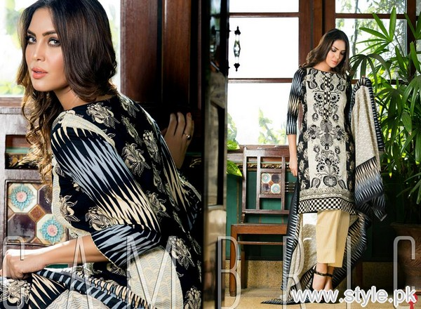 Monsoon Cambric Collection 2015 by Al-Zohaib Textile 7