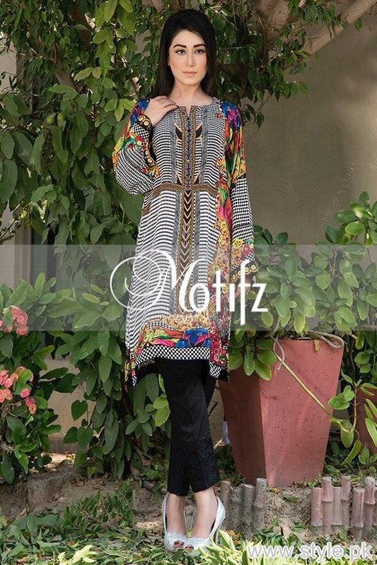Motifz Digital Print Tunic Collection 2015 For Girls 6
