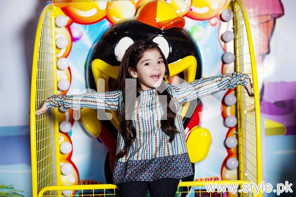 Nishat Linen Kids Winter Dresses 2015 For Girls 7