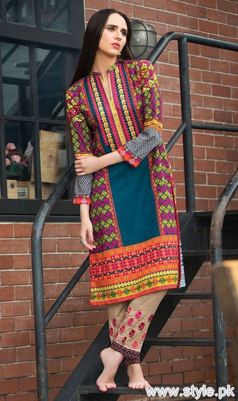 a7e216e8ae40 Orient Textile Winter Dresses 2015 For Women