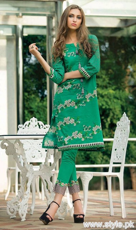 Orient Textile Winter Dresses 2015 For Women 12