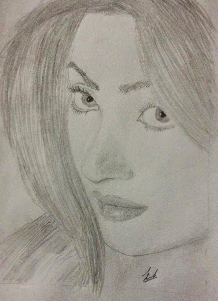 Pakistani Celebrities And Their Handmade Sketches93