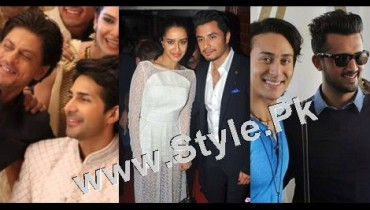 See Pakistani Superstars with Bollywood Superstars