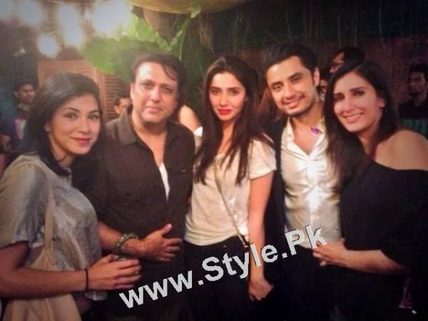 Pakistani Superstars with Bollywood Superstars (6)