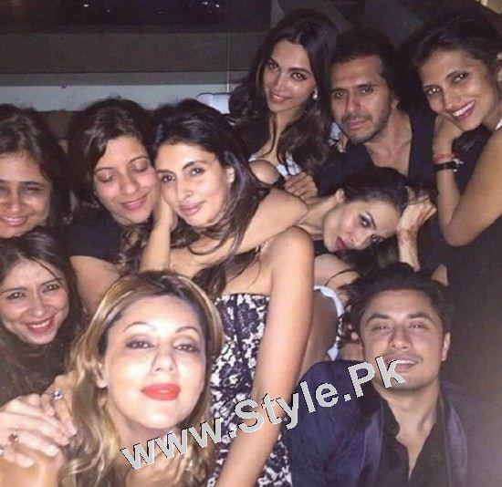 Pakistani Superstars with Bollywood Superstars (8)