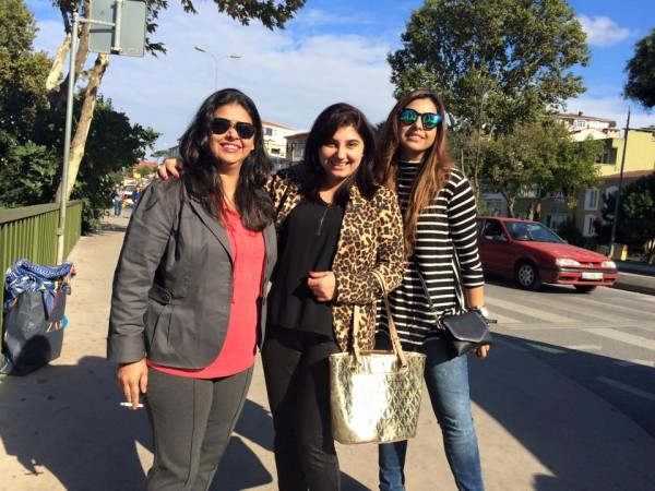Pictures of Javeria Saud on Istanbul Tour (10)