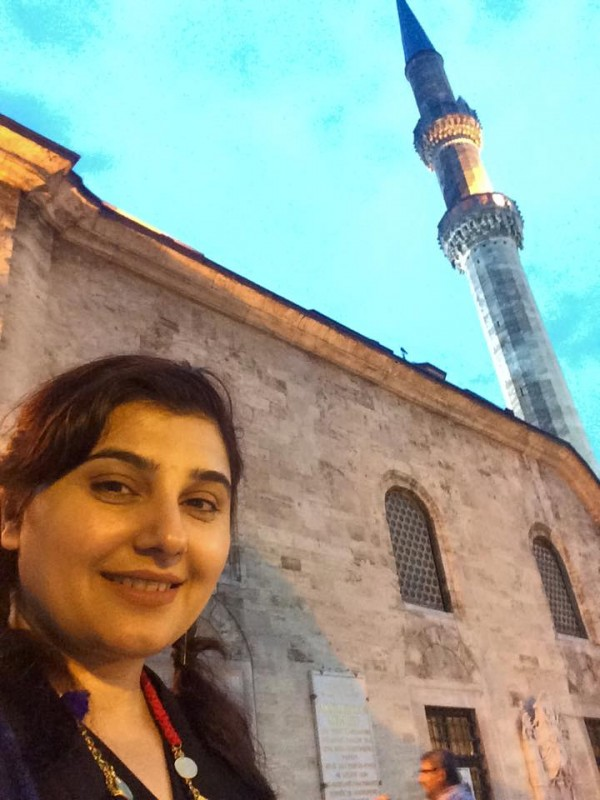 Pictures of Javeria Saud on Istanbul Tour (9)