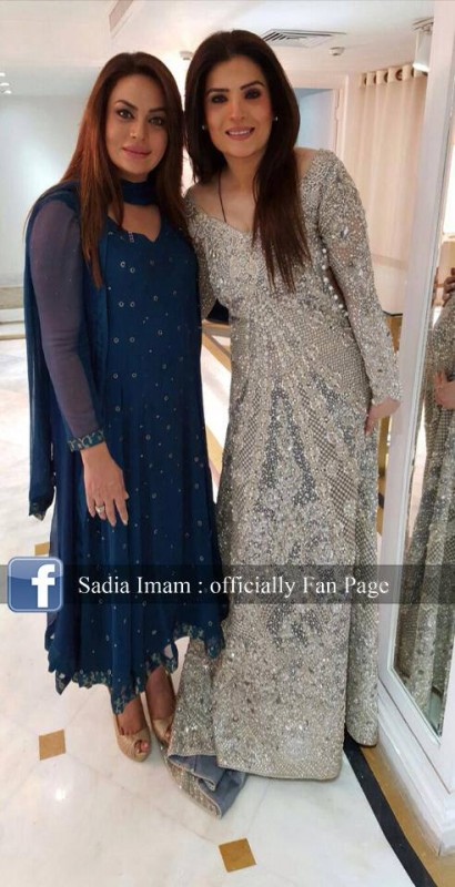 Sadia Imam is a new host of Samaa K  Mehman (2)