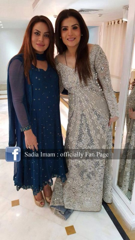 Sadia Imam is a new host of Samaa K  Mehman (4)