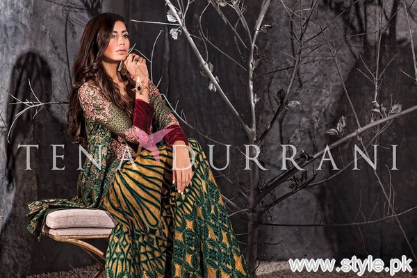 Tena Durrani Formal Dresses 2015 For Women 1