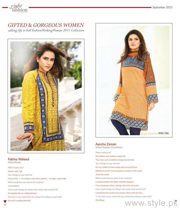 The Working Woman Autumn Winter Dresses 2015 For Women 7