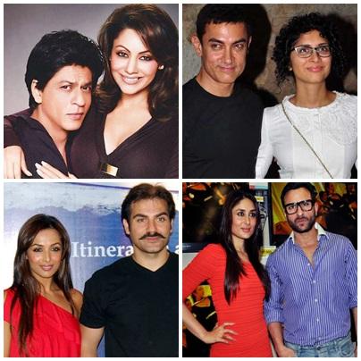 Which Muslim Bollywood Actors Married Hindu Women