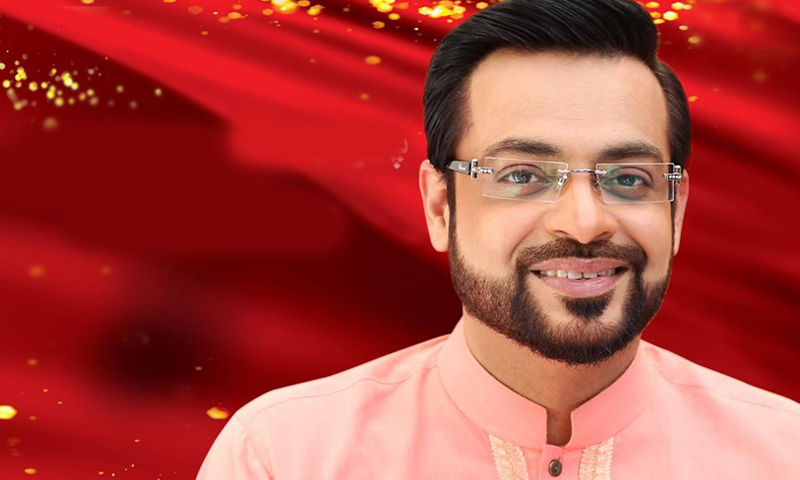 See Amir Liaquat is going to replace Madiha Naqvi on GEO Kahani