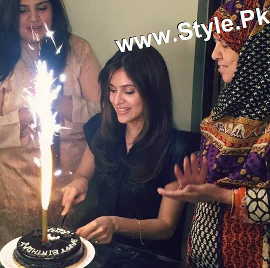 See Arij Fatima celebrating her birthday