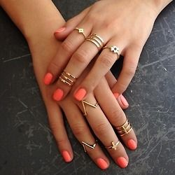 Artifical Cuff Rings For Girls 2016 in Pakistan- hand