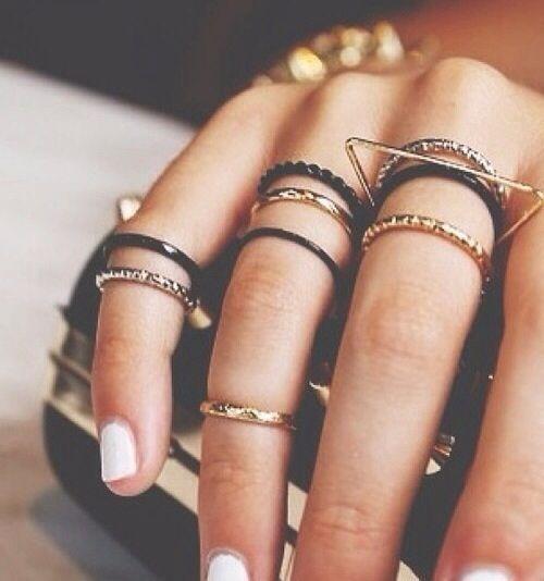 midi cuff rings