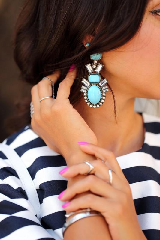 Artificial Jewellery Designs For girls- earrings
