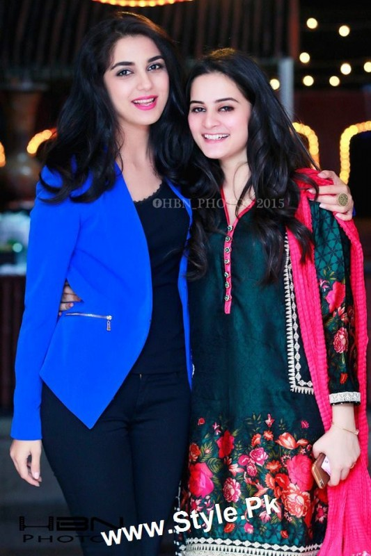 Birthday Celebrations of twins celebrities Aiman Khan and Minal Khan (10)